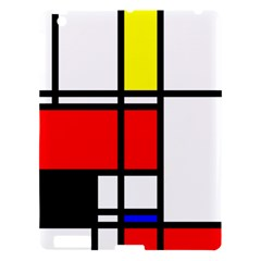 Mondrian Apple Ipad 3/4 Hardshell Case