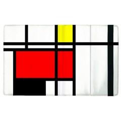 Mondrian Apple iPad 2 Flip Case