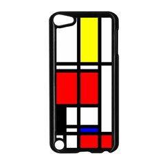 Mondrian Apple Ipod Touch 5 Case (black)