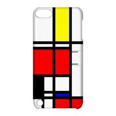 Mondrian Apple Ipod Touch 5 Hardshell Case With Stand