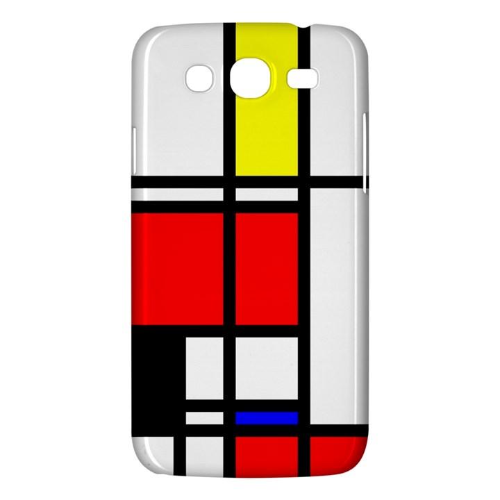 Mondrian Samsung Galaxy Mega 5.8 I9152 Hardshell Case