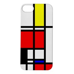 Mondrian Apple Iphone 5s Hardshell Case