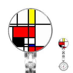 Mondrian Stainless Steel Nurses Watch