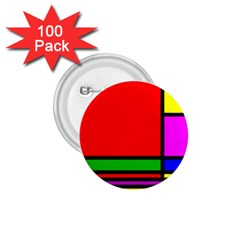 Mondrian 1.75  Button (100 pack)