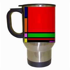 Mondrian Travel Mug (white)