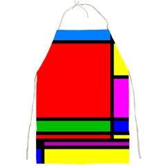 Mondrian Apron