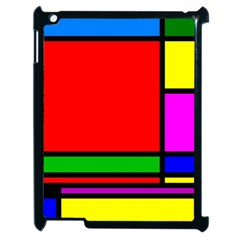 Mondrian Apple Ipad 2 Case (black)