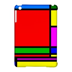 Mondrian Apple iPad Mini Hardshell Case (Compatible with Smart Cover)