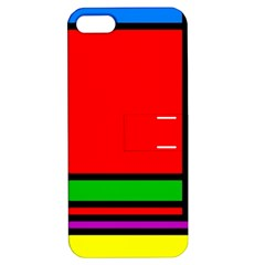Mondrian Apple Iphone 5 Hardshell Case With Stand