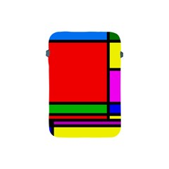 Mondrian Apple Ipad Mini Protective Sleeve