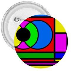 Mondrian 3  Button
