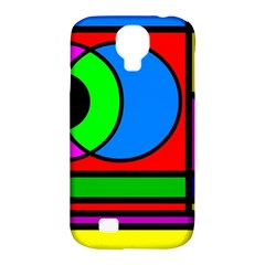 Mondrian Samsung Galaxy S4 Classic Hardshell Case (PC+Silicone)