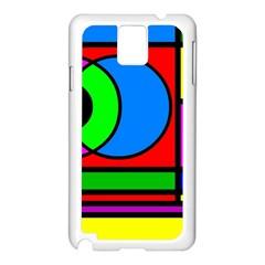 Mondrian Samsung Galaxy Note 3 N9005 Case (white)