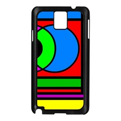 Mondrian Samsung Galaxy Note 3 N9005 Case (Black)