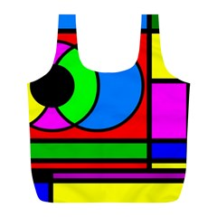 Mondrian Reusable Bag (l)