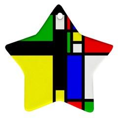 Abstrakt Star Ornament