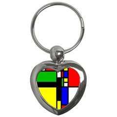 Abstrakt Key Chain (heart)