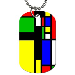 Abstrakt Dog Tag (Two-sided)