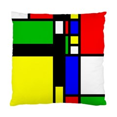 Abstrakt Cushion Case (two Sided)