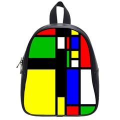 Abstrakt School Bag (small)