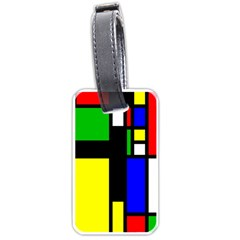 Abstrakt Luggage Tag (two Sides)