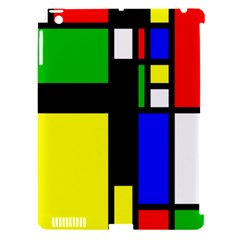 Abstrakt Apple Ipad 3/4 Hardshell Case (compatible With Smart Cover)