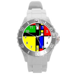 Abstrakt Plastic Sport Watch (large)