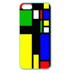 Abstrakt Apple Seamless Iphone 5 Case (color)