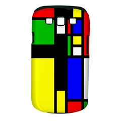 Abstrakt Samsung Galaxy S III Classic Hardshell Case (PC+Silicone)