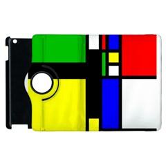 Abstrakt Apple iPad 2 Flip 360 Case