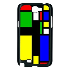 Abstrakt Samsung Galaxy Note 2 Case (Black)
