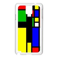 Abstrakt Samsung Galaxy Note 3 N9005 Case (White)