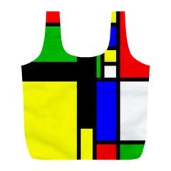 Abstrakt Reusable Bag (L)