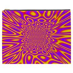 Psycedelic Warp Cosmetic Bag (xxxl)