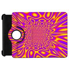 Psycedelic Warp Kindle Fire HD 7  (1st Gen) Flip 360 Case