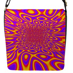 Psycedelic Warp Removable Flap Cover (Small)