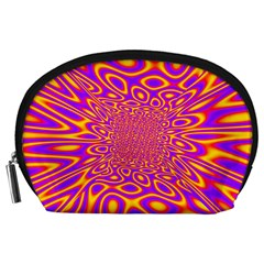 Psycedelic Warp Accessory Pouch (Large)