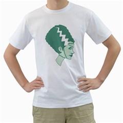 Frankie s Girl Men s T-Shirt (White)