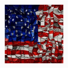 American Flag Blocks Glasses Cloth (Medium)