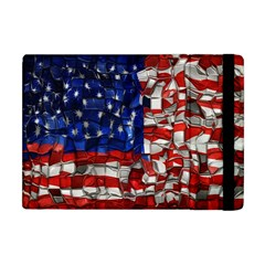 American Flag Blocks Apple iPad Mini Flip Case