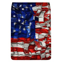 American Flag Blocks Removable Flap Cover (Small)