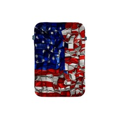 American Flag Blocks Apple iPad Mini Protective Sleeve