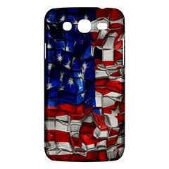 American Flag Blocks Samsung Galaxy Mega 5 8 I9152 Hardshell Case