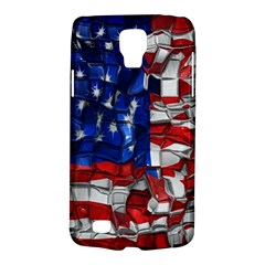 American Flag Blocks Samsung Galaxy S4 Active (i9295) Hardshell Case