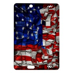 American Flag Blocks Kindle Fire HD 7  (2nd Gen) Hardshell Case