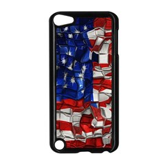 American Flag Blocks Apple iPod Touch 5 Case (Black)