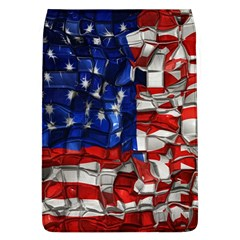 American Flag Blocks Removable Flap Cover (large)