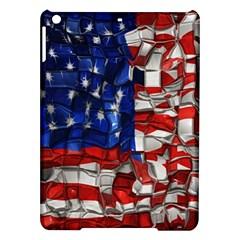 American Flag Blocks Apple iPad Air Hardshell Case