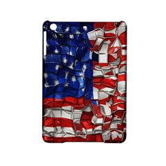 American Flag Blocks Apple Ipad Mini 2 Hardshell Case