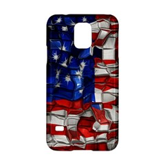 American Flag Blocks Samsung Galaxy S5 Hardshell Case